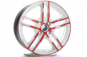 15*6,5  4*100  ЕТ40  73,1  FM B233  White+Red